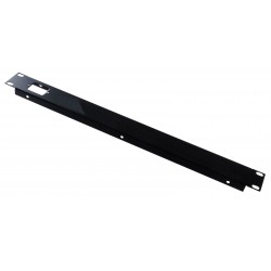 1U 19 inch folded panel 1 IEC C14 inlet 240v mains power hole for pro audio rack cabinet