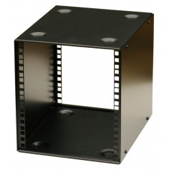 6U 10.5 inch Half-Rack 200mm Stackable Rack Cabinet