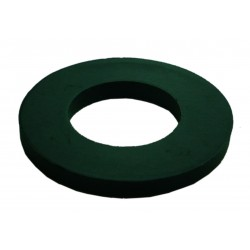 50 M5 Black Nylon Washers 10mm O/D 1mm Thickness
