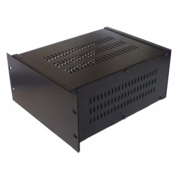 3U 10.5 inch rack mount 300mm vented enclosure chassis case