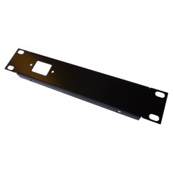 1U IEC C14 9.5 inch Half Rack Folded Front Panel