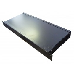 1U 19 inch rack mount 200mm non vented enclosure chassis case