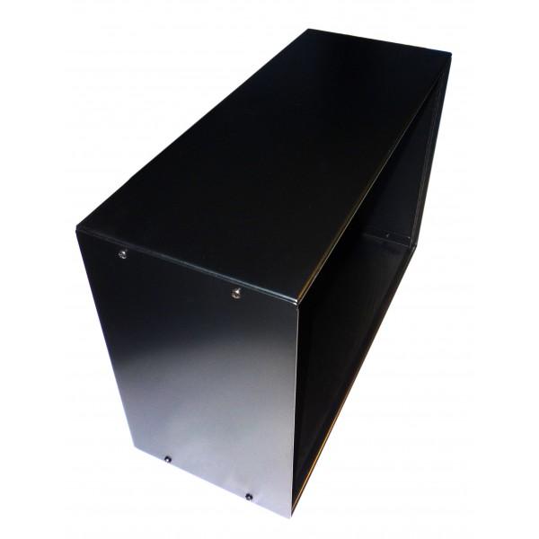6u 19 inch 200mm deep cabinet allmetalparts