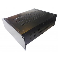 2U 9.5 inch rack mount 300mm vented enclosure chassis case