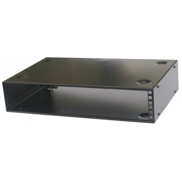 2u rack cabinet 19 inch Stackable 200mm deep - AllMetalParts