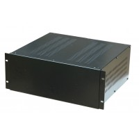 4U 19 inch 300mm rack mount vented top and bottom enclosure chassis case