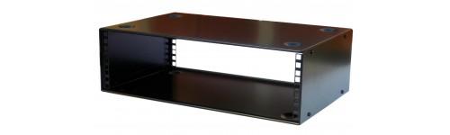 19 inch 400mm deep stackable network rack cabinet cases