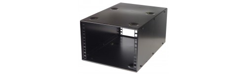 10.5 inch 400mm deep half rack cases