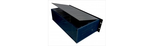 300mm deep aluminium enclosure chassis