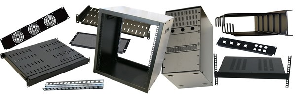 Allmetalparts specialist manufacturer and supplier of Network, Audio, Video Rack mount Cabinets