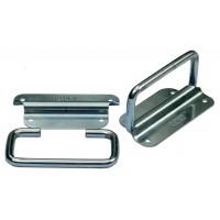 A Pair of Mild Steel Zinc Plated Handles 8mm dia