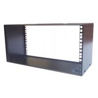 5u 19 inch  200mm deep stackable rack cabinet case