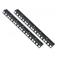 6U RACK STRIP Rail Bars PAIR