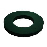 100 M6 Black Nylon Washers 11.8mm O/D 1.61 thickness