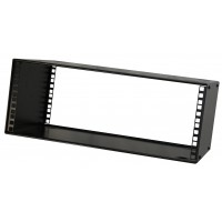 4U 19 inch stackable rack cabinet case 400mm