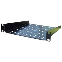 1U 10.5 inch Half-Rack Vented Rack Shelf 280mm deep