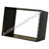 8u 19 inch 200mm deep stackable cabinet