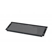 4U 19 inch Vented  Perforated blanking  panel.