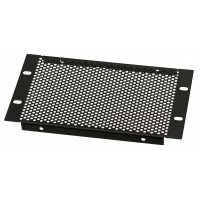 3U 10.5 inch Half-Rack Perforated Vented Blank Panel