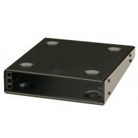1U 9.5 inch Half-Rack 200mm Stackable Rack Cabinet