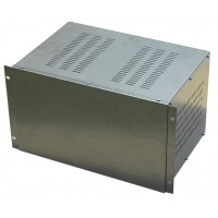 6U 19 inch 300mm rack mount non-vented enclosure chassis case
