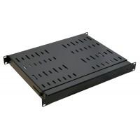 1U 19 inch Adjustable Server Rack Shelf 325mm to 594mm