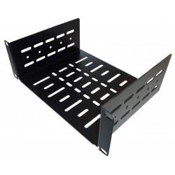 2U 10.5 inch Half-Rack Vented Rack Shelf 185mm deep
