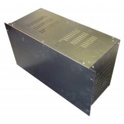 6U 19 inch 200mm rack mount vented enclosure chassis case